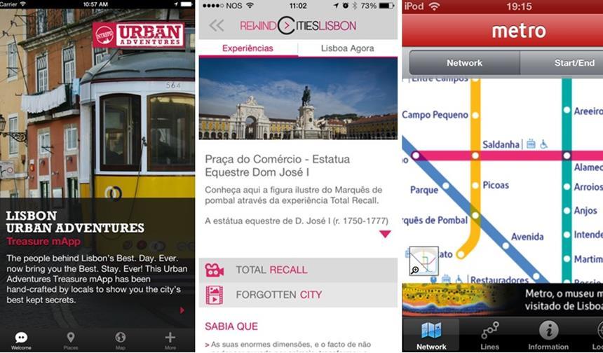 Aplicativos da Cidade de Lisboa, Portugal