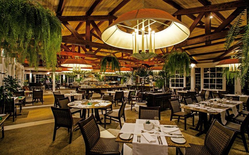 Restaurante do Hotel das Cataratas, Foz do Iguaçu, Brasil Foto: Divulgação