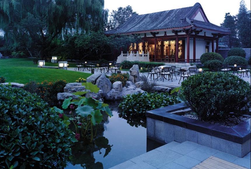 Jardim do Shangri-La Hotel Beijing Foto: Divulgação