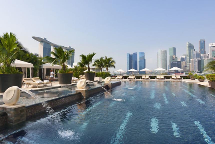 Mandarim Oriental Singapore-Piscina Foto: Divulgação