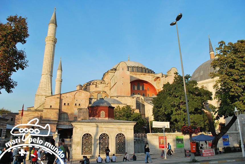 Basílica de Santa Sofia - Hagia Sophia Foto: Mari