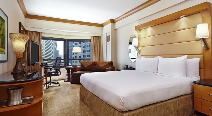 Quarto do New York Hilton Midtown, Nova Iorque, EUA Foto: Divulgação