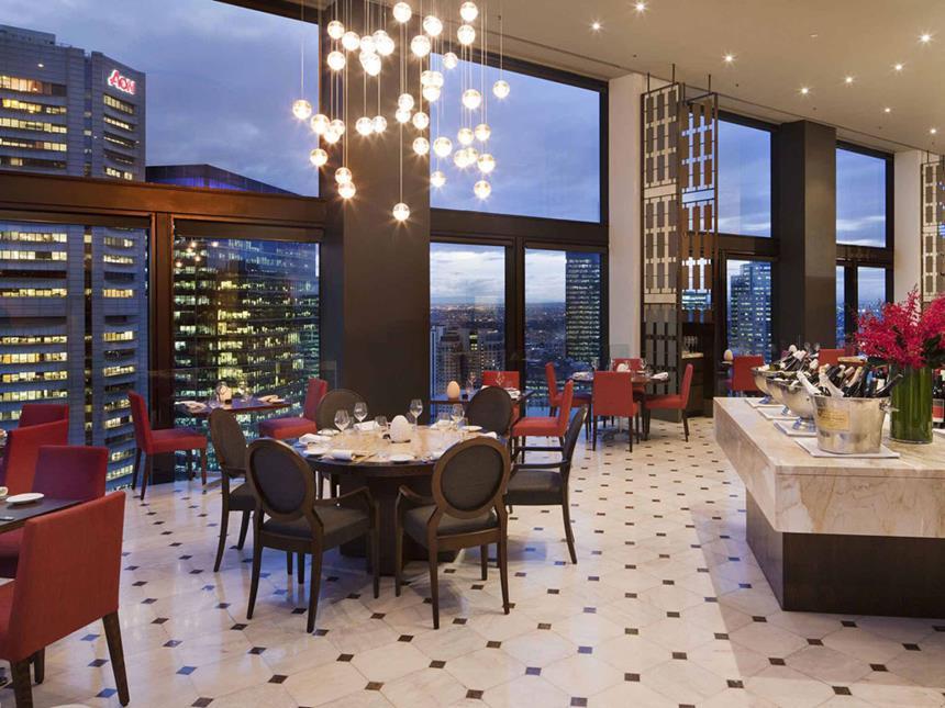 Restaurante - Sofitel Melbourne, Australia Foto: Divulgação