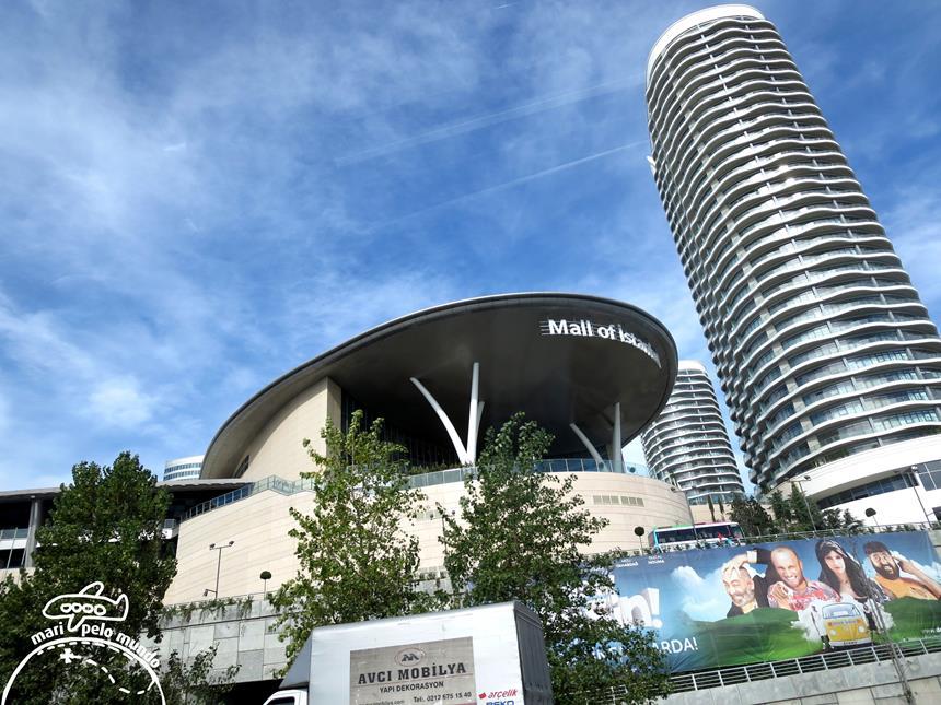 Shopping Center em Istambul Foto: Mari