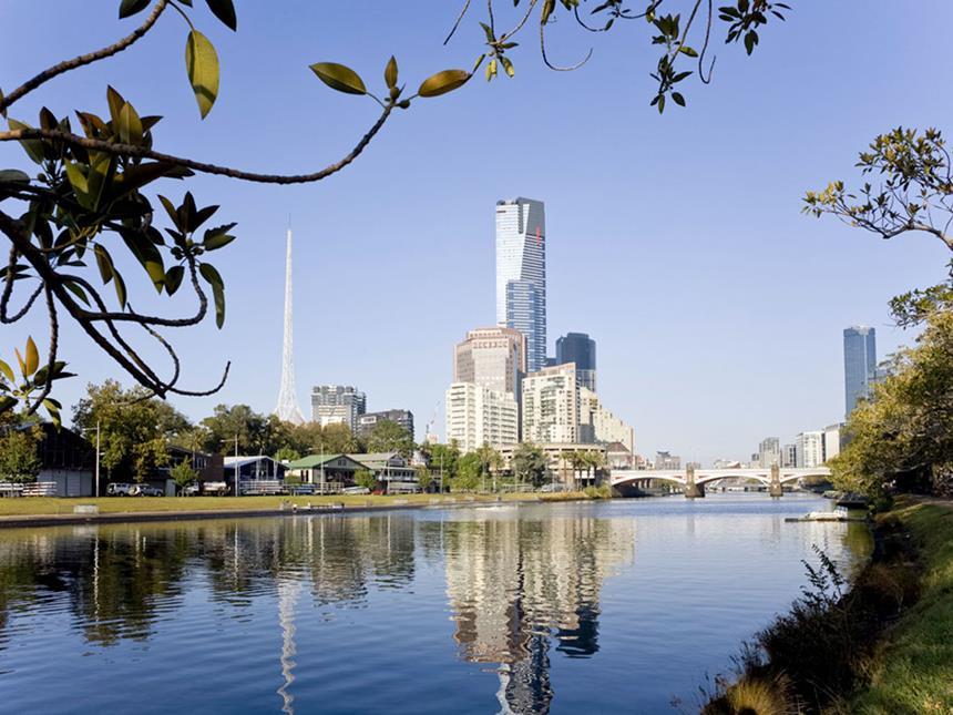 Vista Externa - Bar - Sofitel Melbourne, Australia Foto: Divulgação