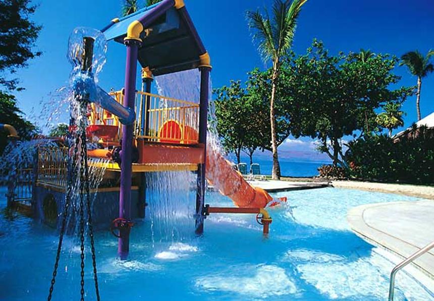 Wailea Beach Marriott - Piscina infantil Foto: Divulgação