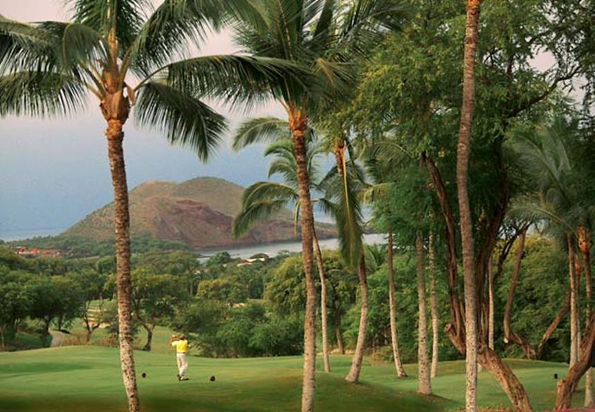Clube de Golf - Wailea Beach Marriott Resort Foto: Divulgação