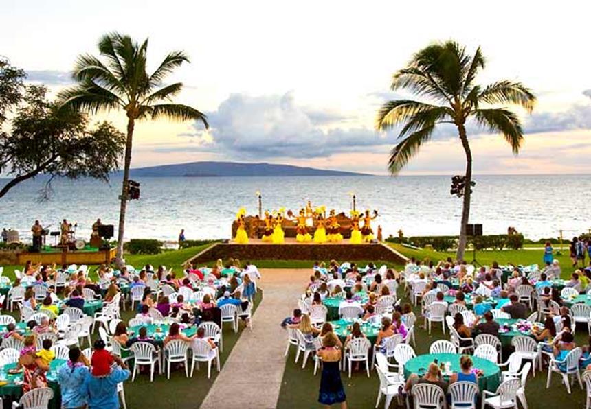 Wailea Beach Marriott Resort - Luau Foto: Divulgação