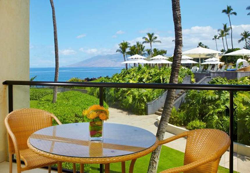 Wailea Beach Marriott Resort - quarto com vista Foto: Divulgação