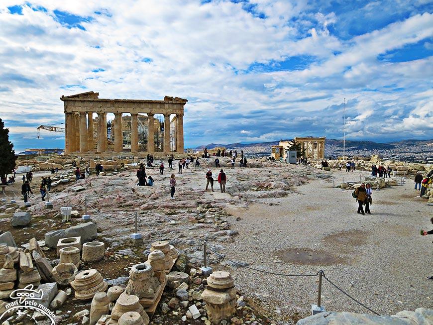 Conhecendo Atenas: Acrópole de Atenas