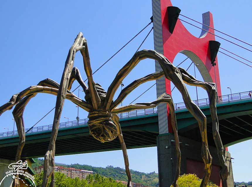 Escultura em Bilbao