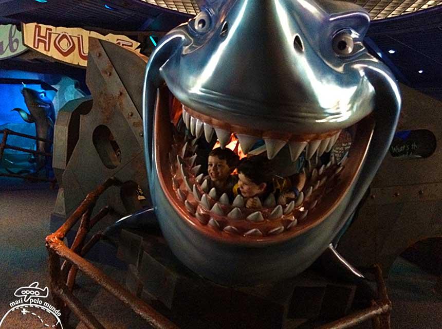 O tubarão Bruce, de Procurando Nemo
