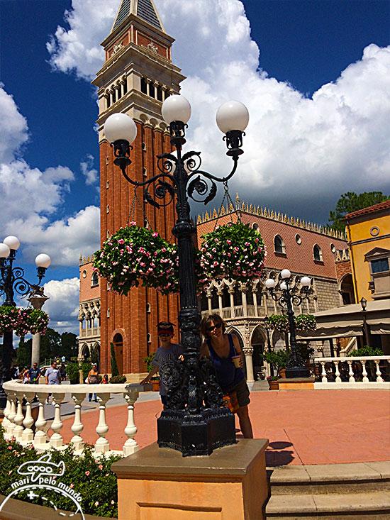 Itália – Campanário de San Marco e Palazzo Ducale