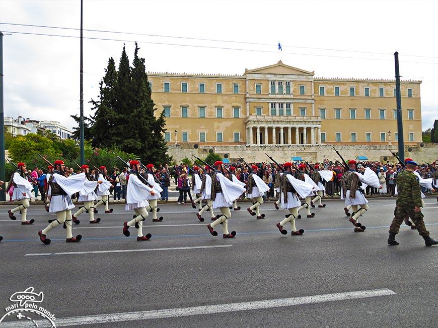 Praça Syntagma (Atenas/Grécia)