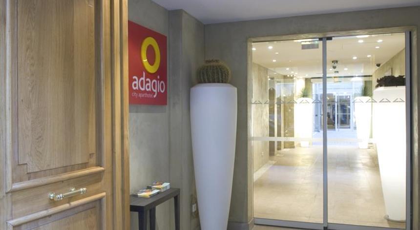 Adagio Paris Opera - Entrada Aparthotel em Paris