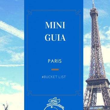 Mini-Guia: Paris