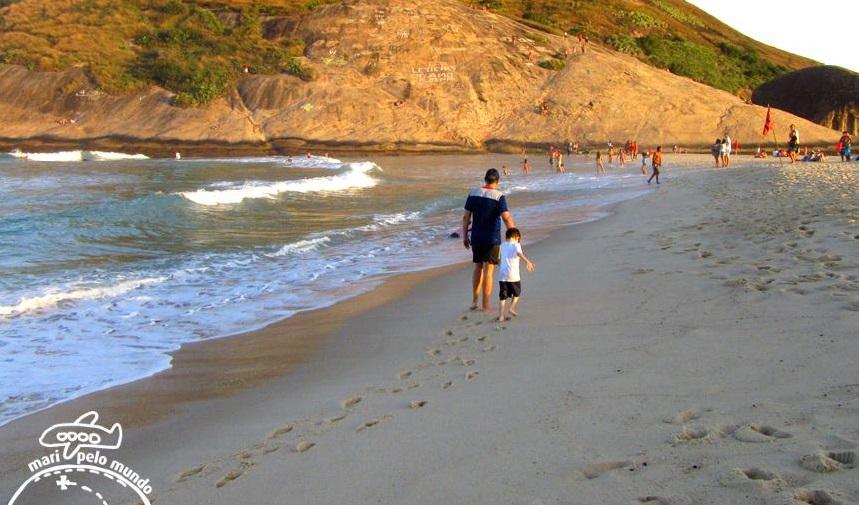 Praia no Recreio dos Bandeirantes