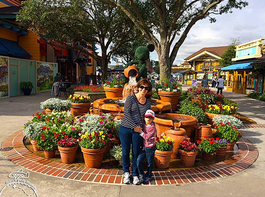 Jardim Downtown Disney