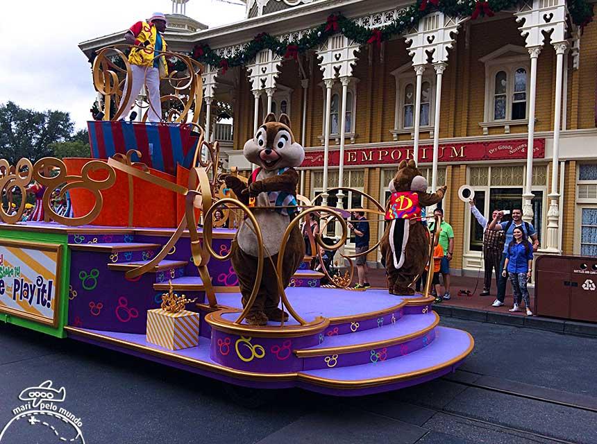 Desfile no Magic Kingdom