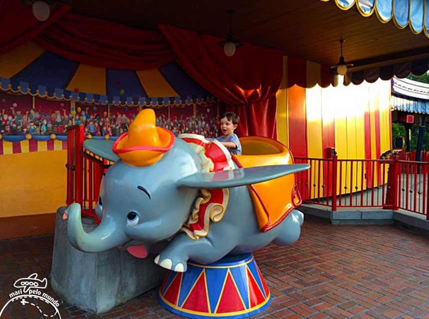 Dumbo no Magic Kingdom