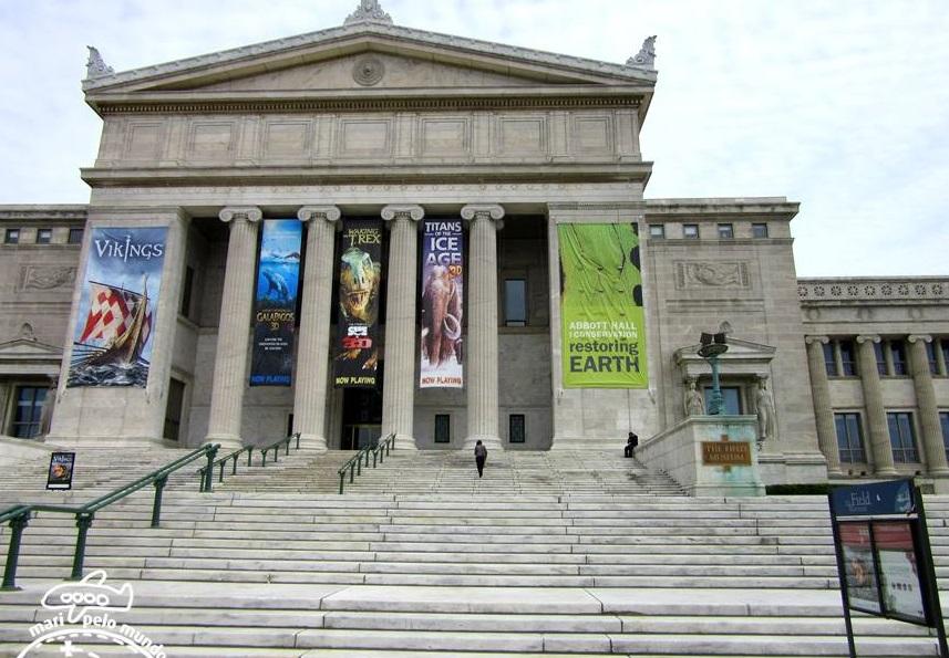 Entrada do Field Museum