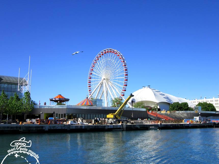 Roda Gigante Navy Pier