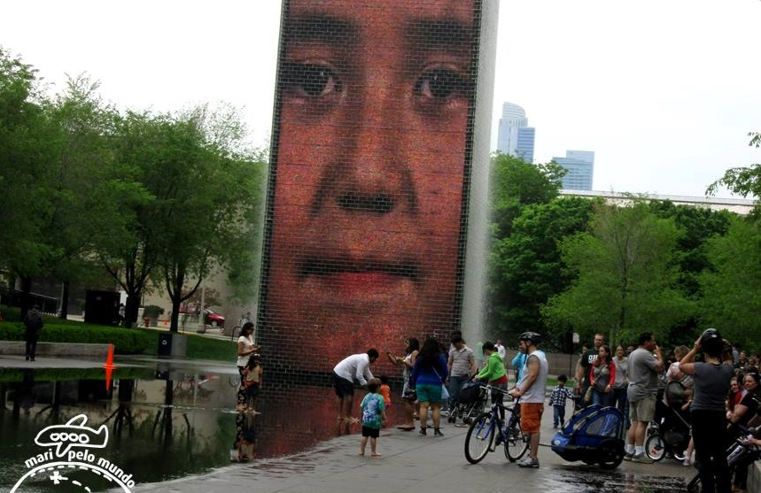 Millenium Park - Crown Fountain
