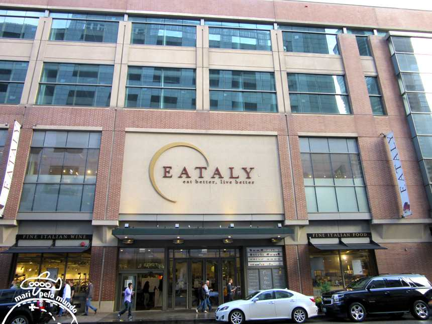 Fachada do Eataly Chicago