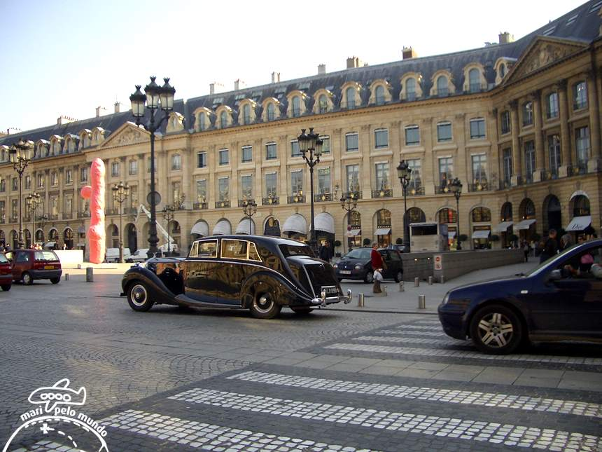 Hotel Ritz Paris - Fachada