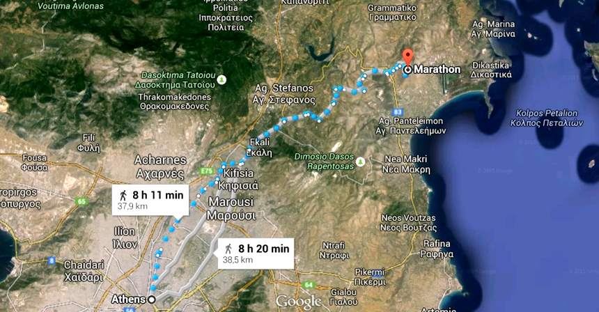 Maratona - Atenas