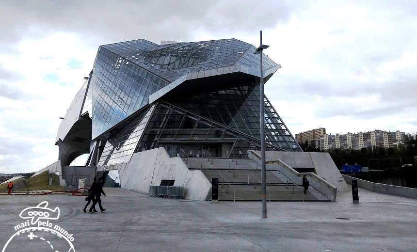 Musee Confluense - Vista Externa