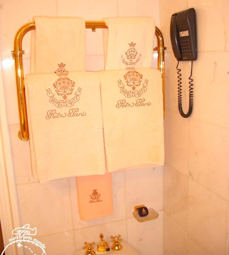 Hotel Ritz Paris - Banheiros