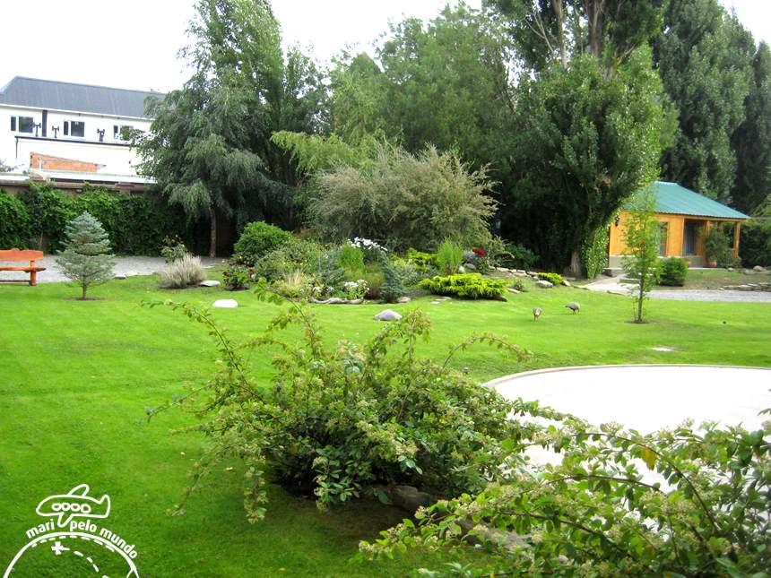 Jardim do hotel Kosten Aike