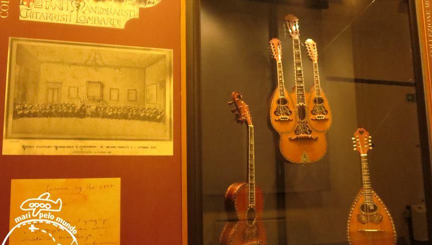 Acervo do Museu dos instrumentos musicais