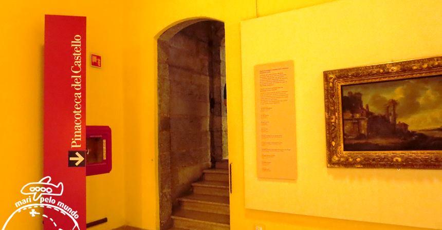 Entrada da Pinacoteca