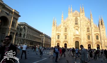 Catedral de Milão e Piazza Duomo