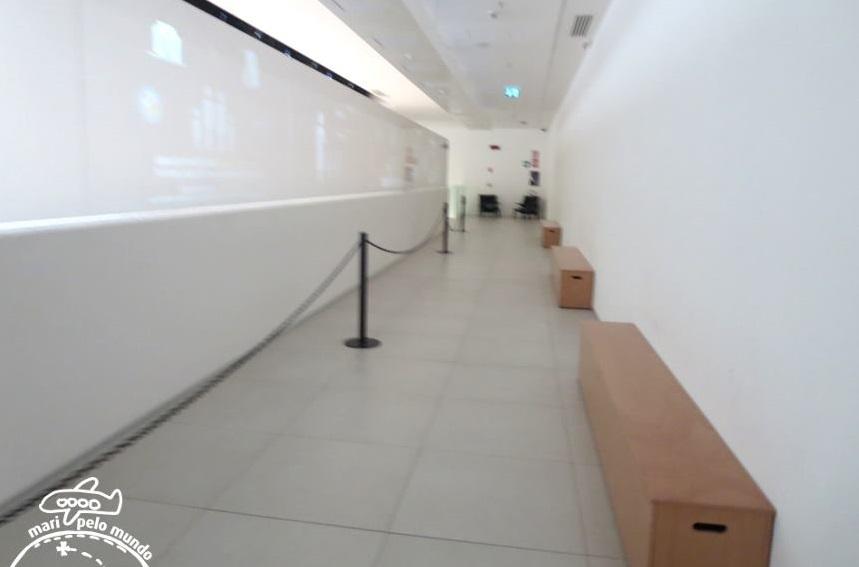 Area de Exposição - Pavilhão do Brasil