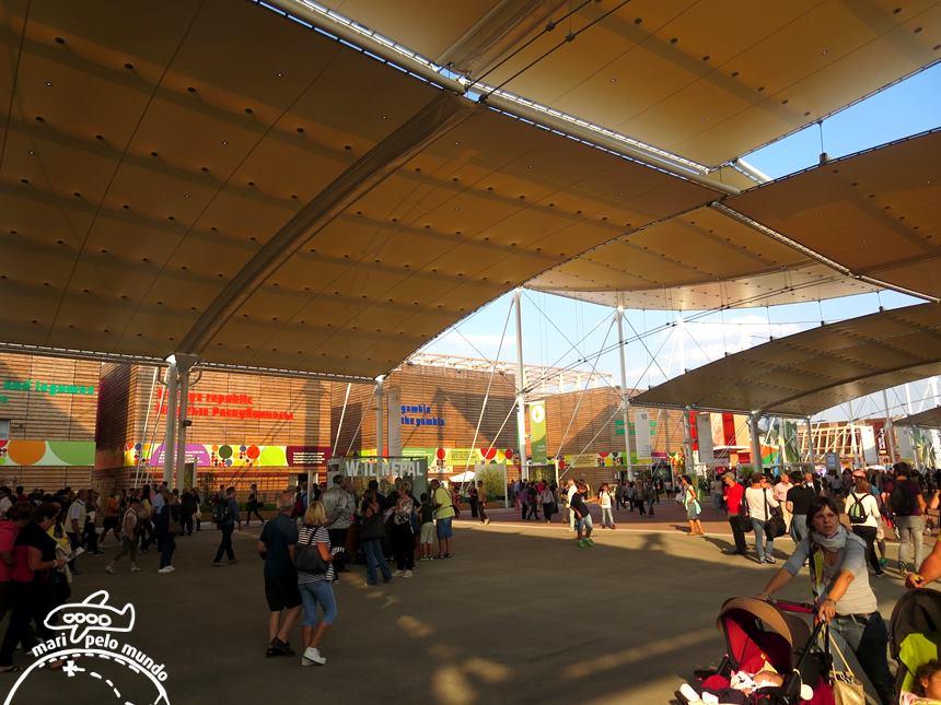 Corredor central - EXPO