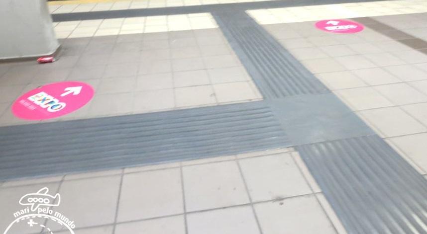 Sinalização do Metro