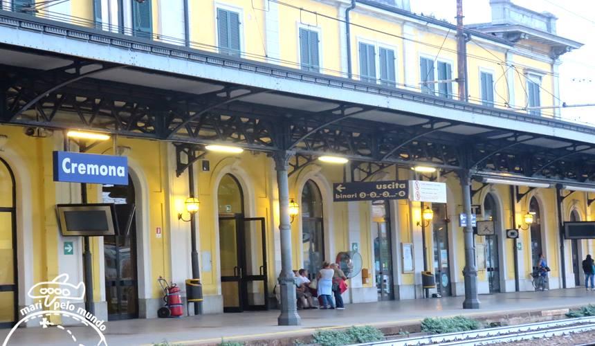 Estação de trem de Cremona