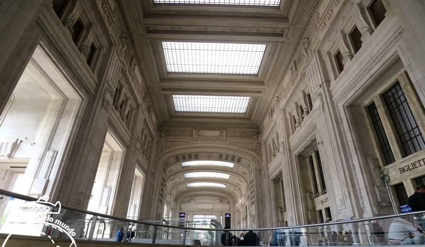 Estação Central em Milão