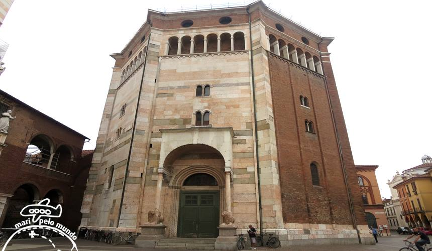 Catedral e o Batistério de Cremona