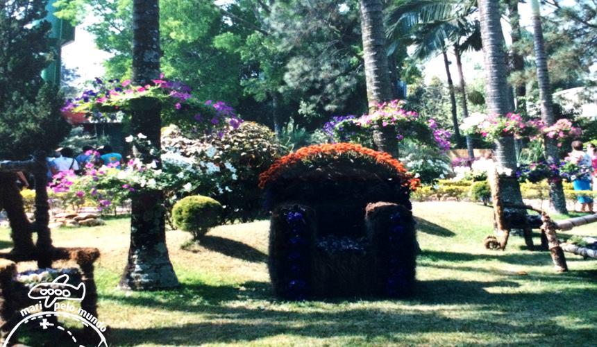 Jardins enfeitados