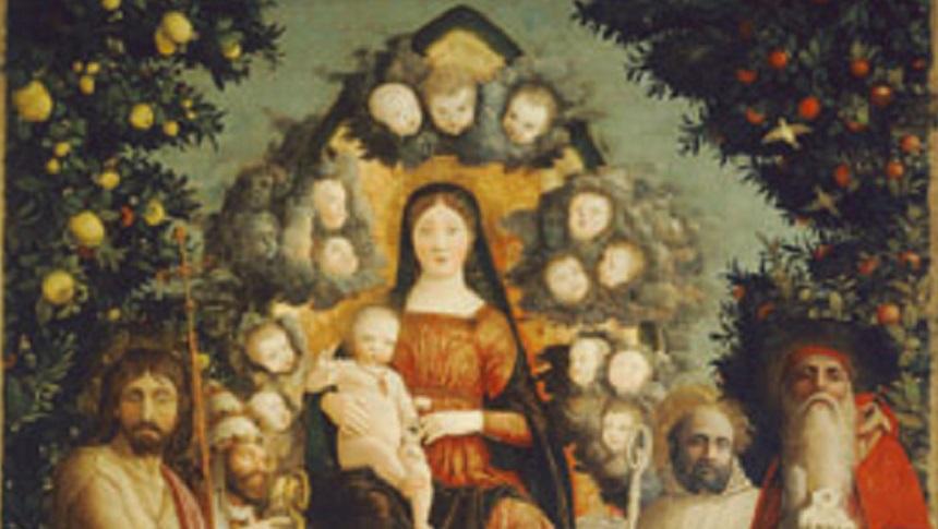 Andrea Mantegna, Madonna in gloria