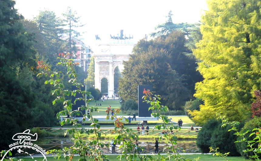 Parco Sempione e Arco della Pace