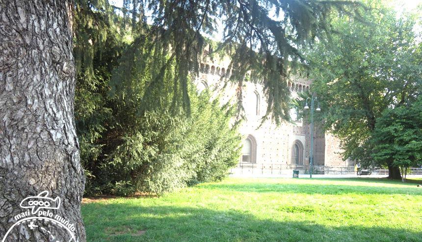 Parco Sempione e Muro do Castelo