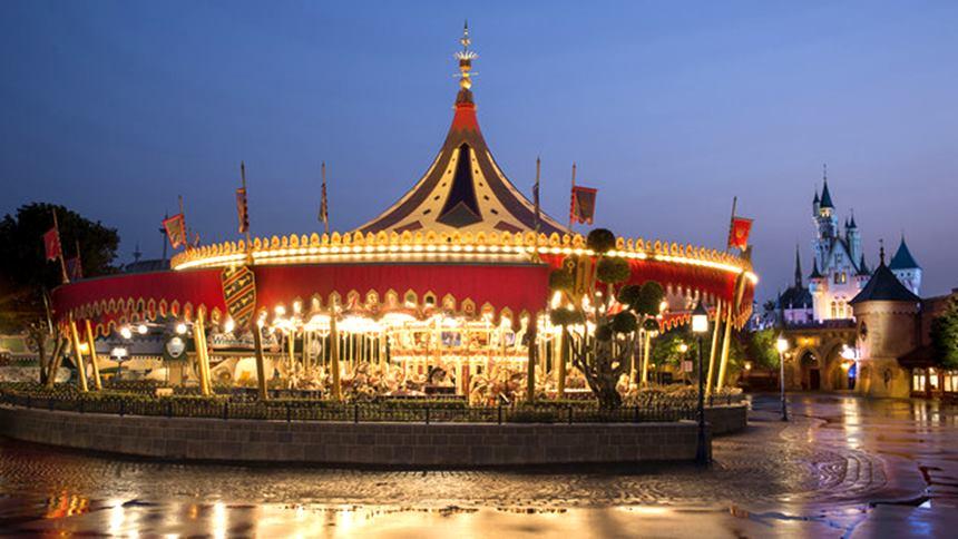 Disneyland Hong Kong Carrossel da Cinderela
