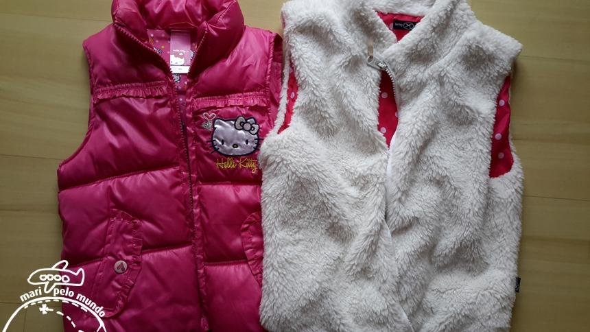 Mala de inverno para crianças
