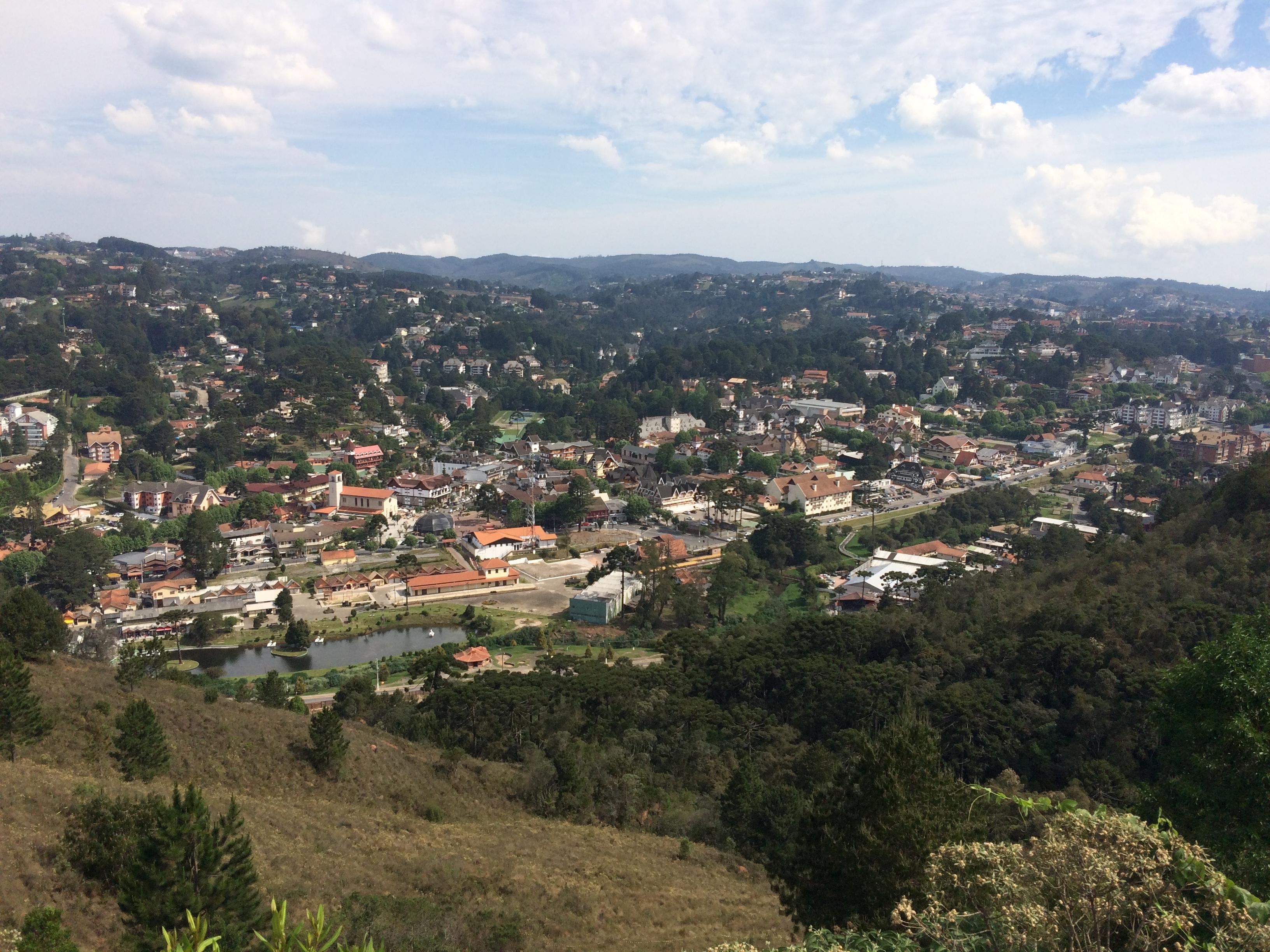 Vista do Morro do Elefante