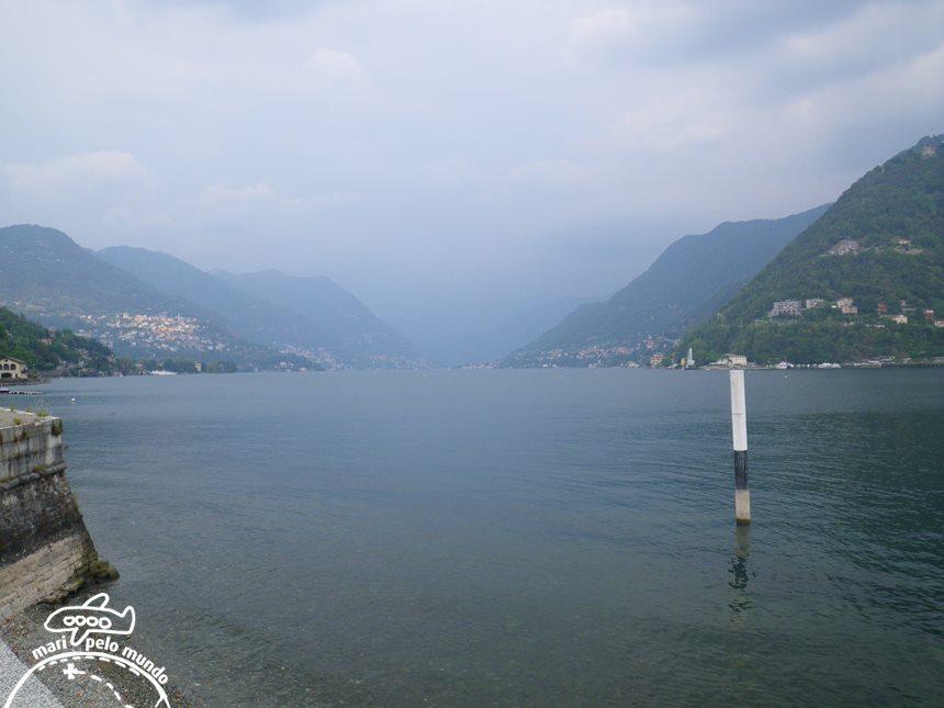Lago de Como - Vista da Villa Olmo